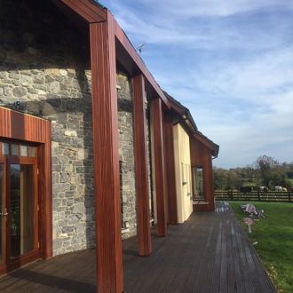 wooden parts and frame renovated by bp painters and decorators lisryan