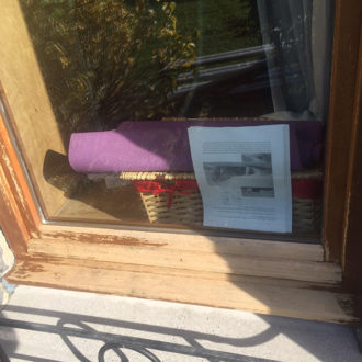 renovation wooden window frame by bp painters and decorators