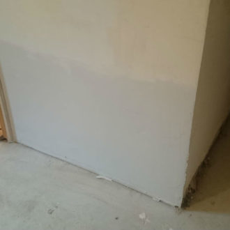 wall renovation by bp painters and decorators based in longford