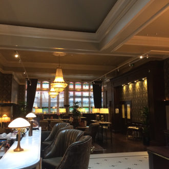 fleet street Hotel dinning room renovated by bp painters and decorators co.longford