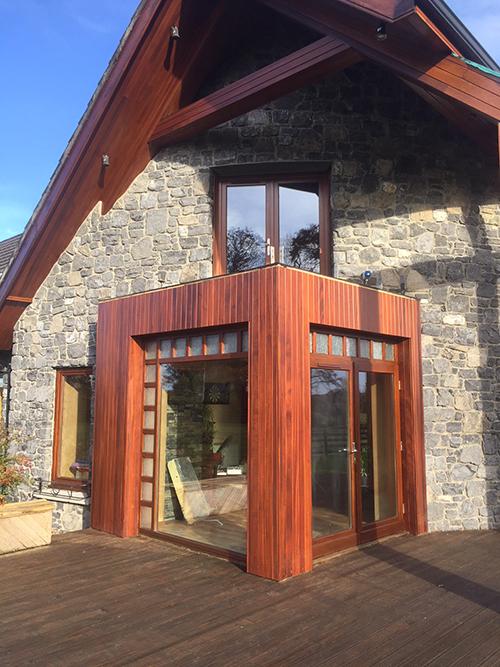 wooden house frames after care by bp decorators lisryan