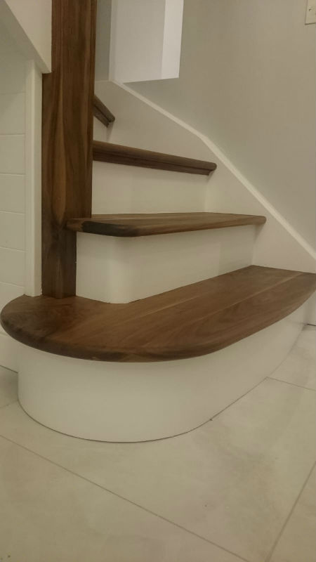 stairs renovation by bp painters and decorators based in longford
