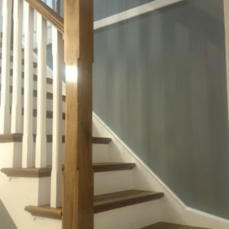 staircase work done by bp decorators