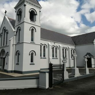 church revamped by BP painters and decorators