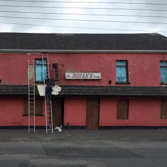 painting of a pub by BP Decorators