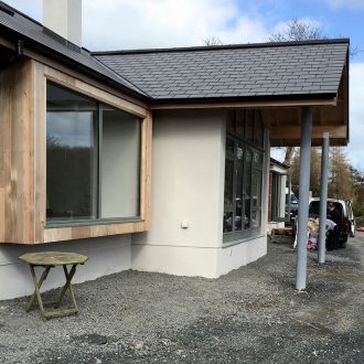 renovating house outdoor by BP decorators