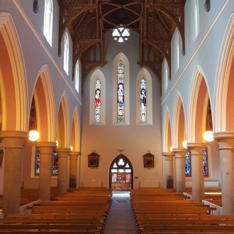 painting job in a church by BP-decorators