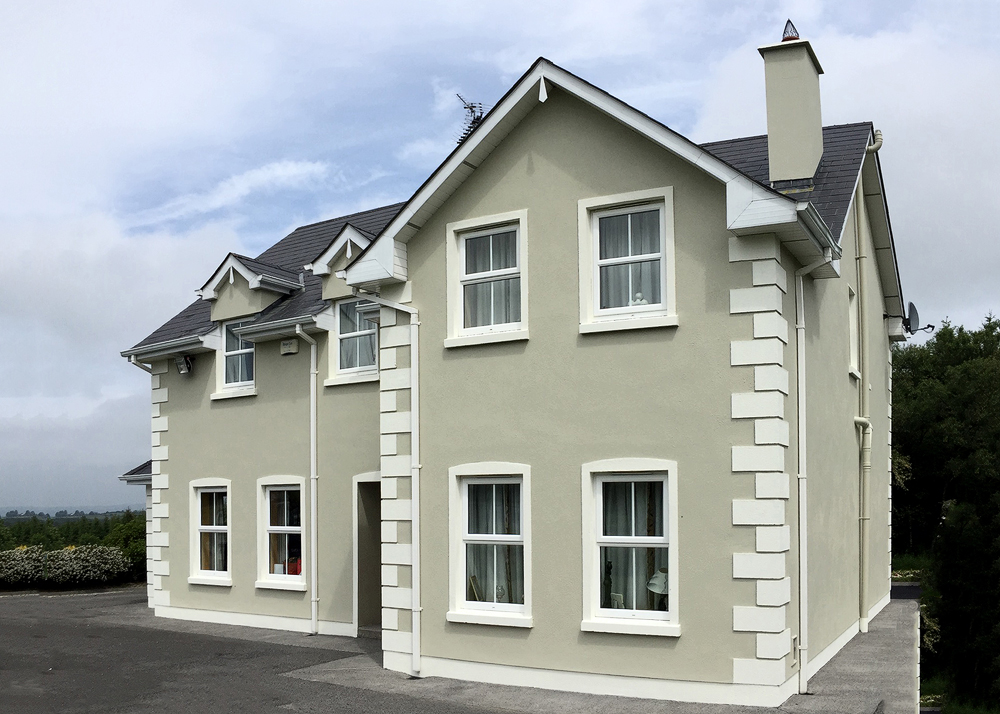 repainted house exterior by BP Painters and Decorators