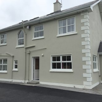 repainted house exterior by BP decorators
