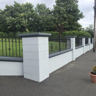 paint job wall outdoor by BP Decorators