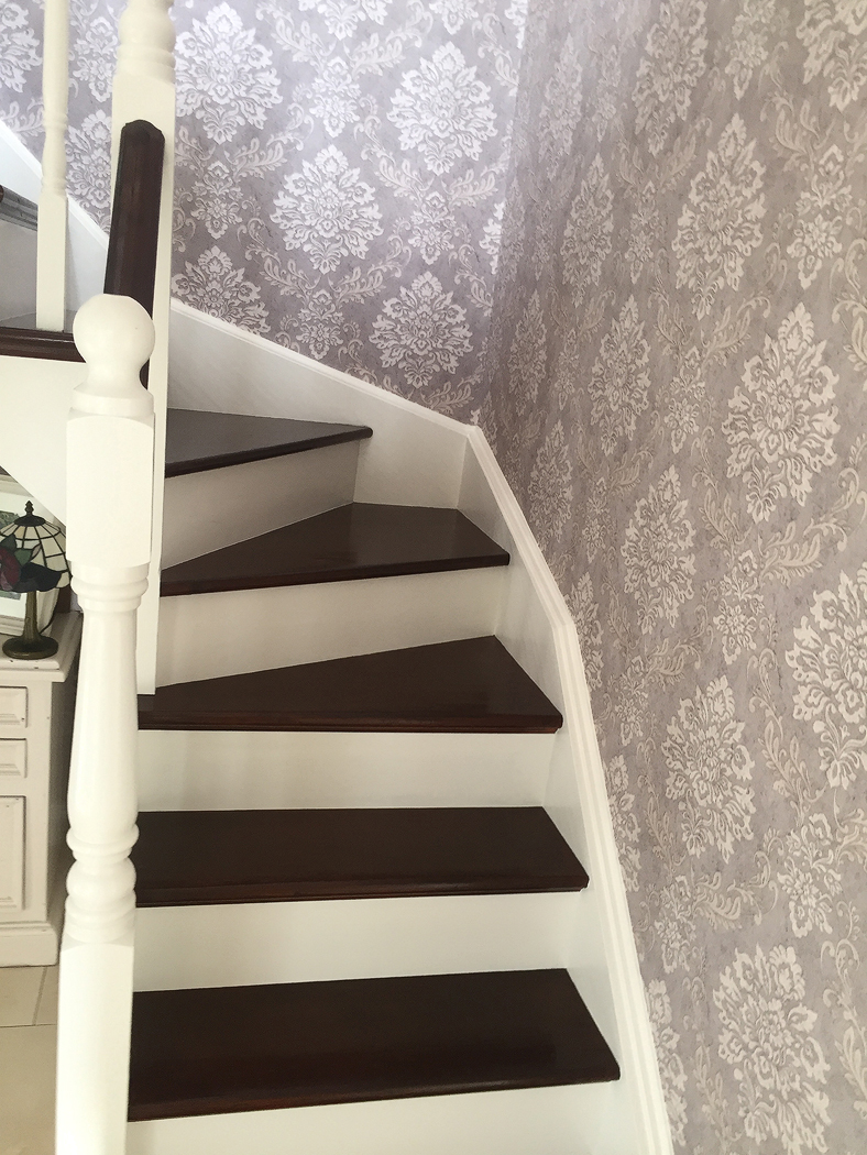 new paint job for stairs by bp-decorators