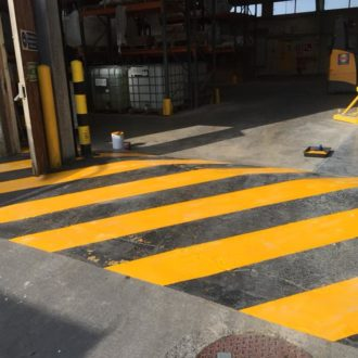industrial painting done by bp painters and decorators