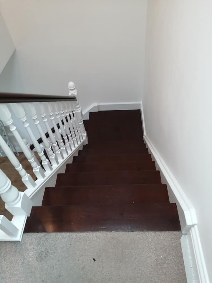 painting job by bp painters and decorators