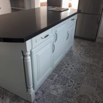 kitchen painting job by bp painters and decorators